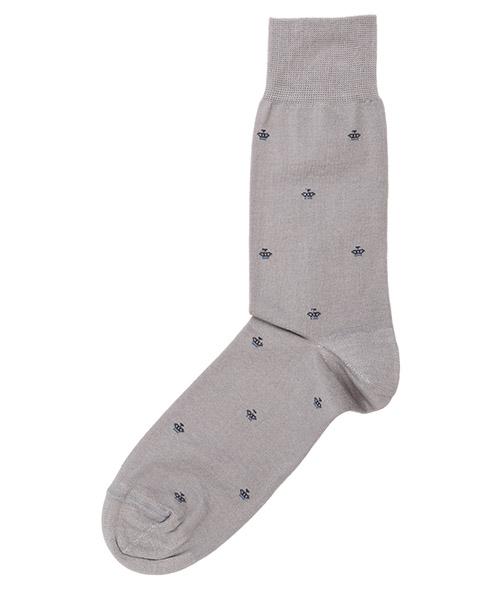 Calcetines bajos Be Soft corone COR1GRIUUCF grigio