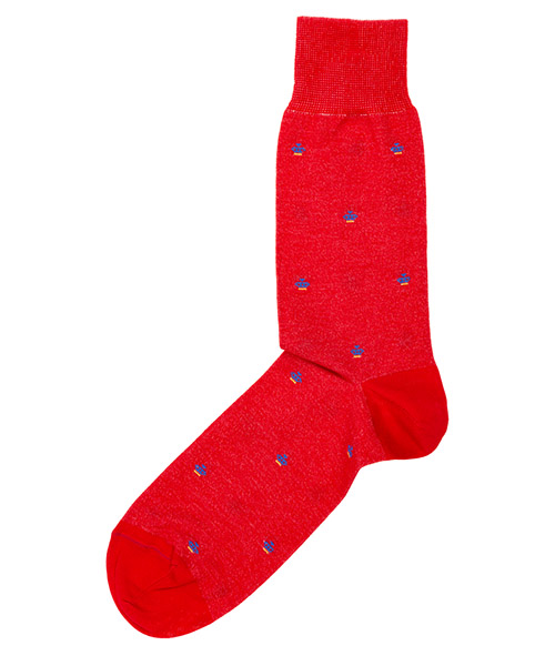 Low socks Be Soft COR1ROSUUCF rosso