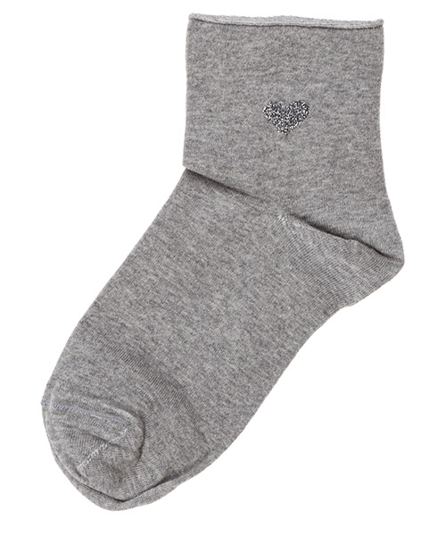 Ankle socks Be Soft Cuore CUO1GRIDUVC grigio