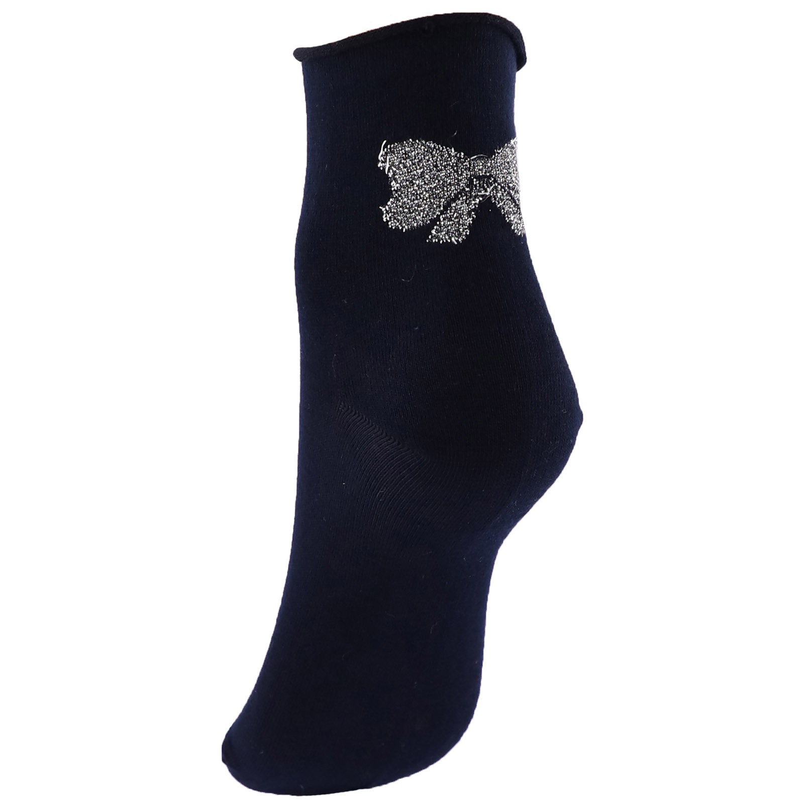 Ankle socks woman bow