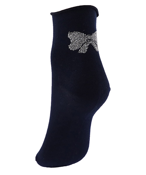 Ankle socks woman bow secondary image