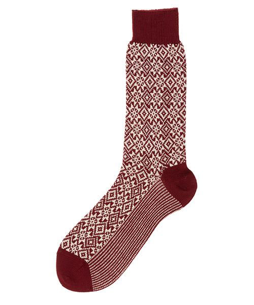 Socks Be Soft NAT2BORUMCW rosso