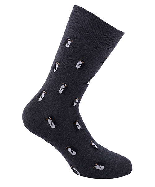 Calcetines bajos Be Soft pinguini PIN1ANTUUCC antracite