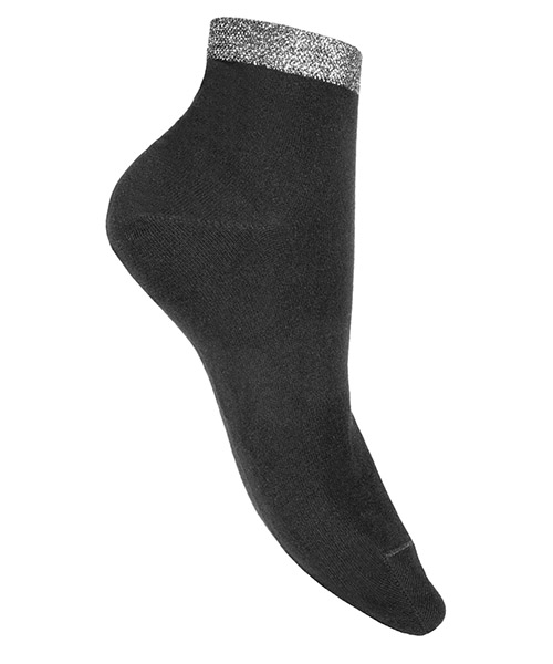 Ankle socks Be Soft polsino argento scuro PLA4NERDUVX nero
