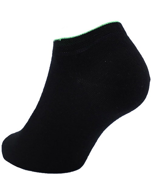 Chaussette invisible homme polsino vert secondary image