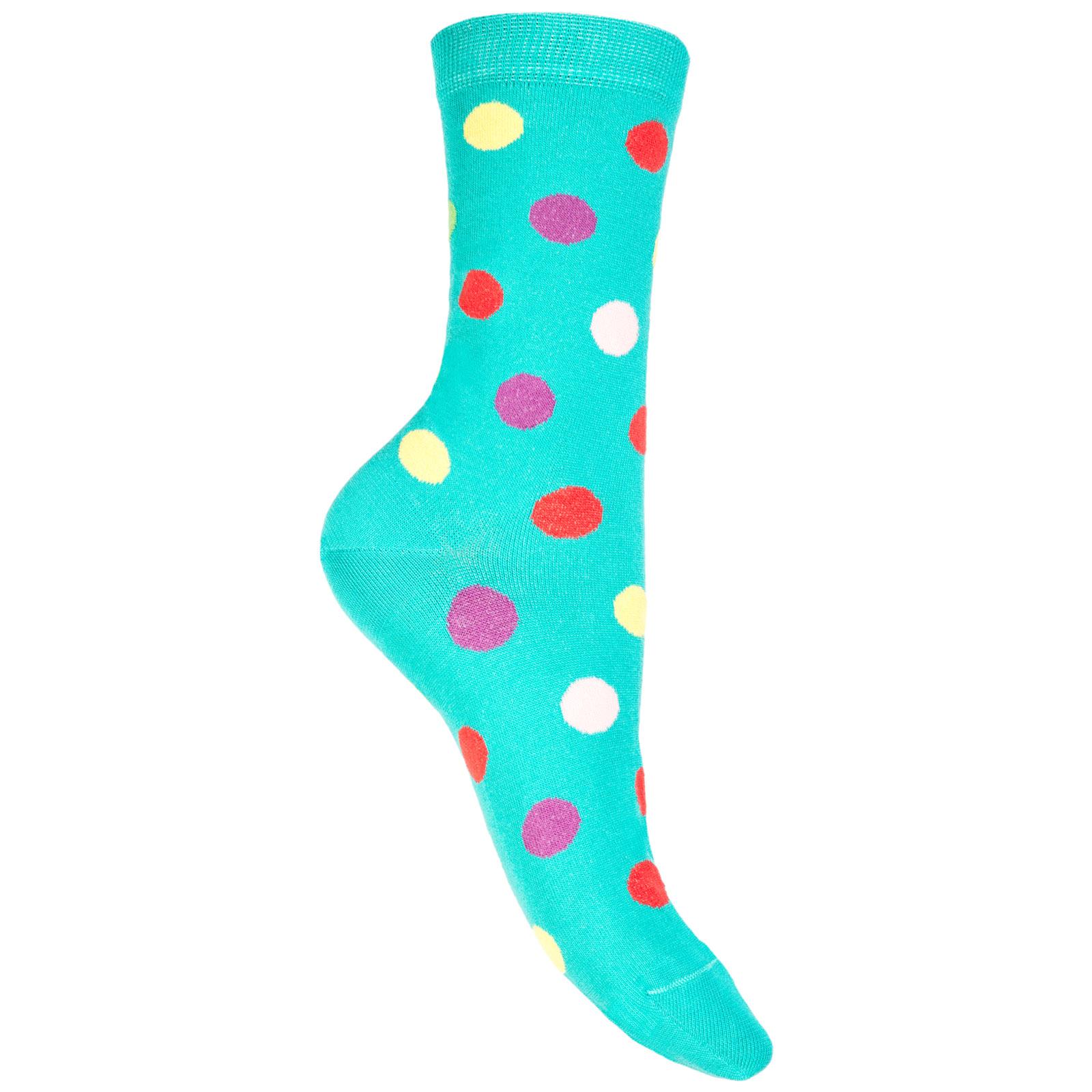 Low socks woman pois