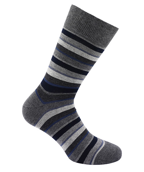 Low socks Be Soft riga 1 RIG1GRSUUCC grigio scuro