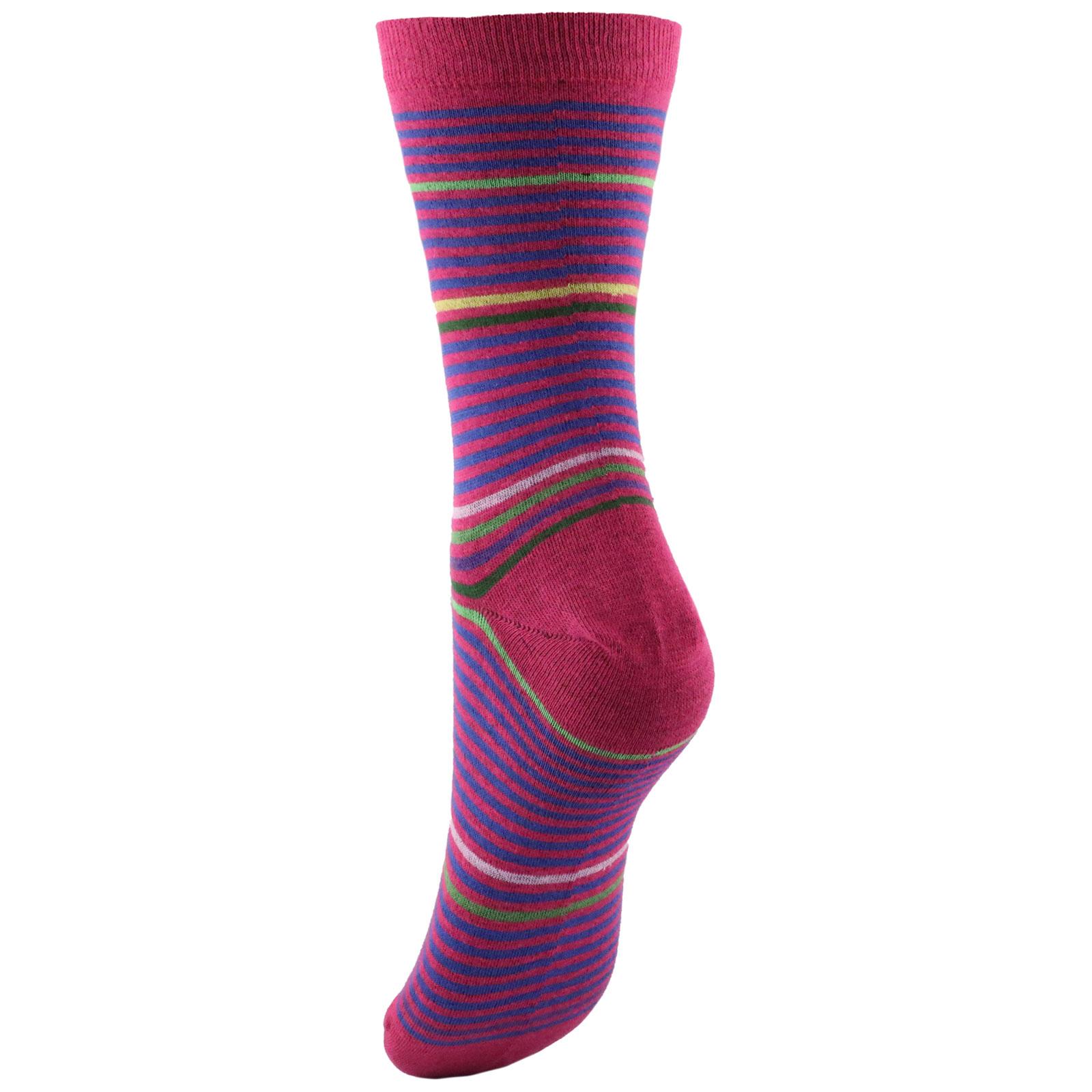 Low socks woman stripes