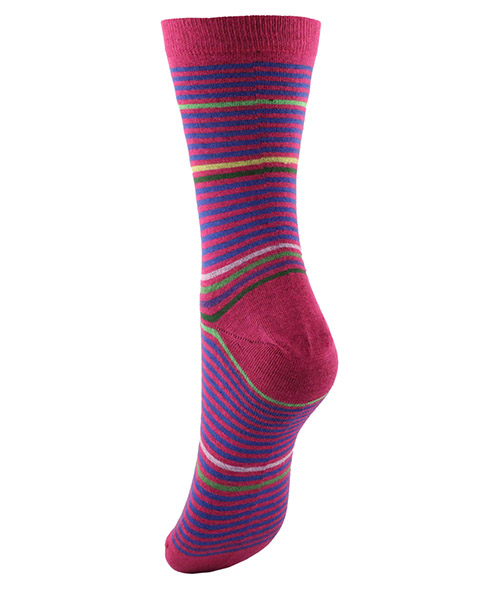Kurze socken damen stripes secondary image
