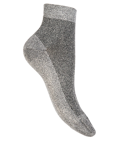 Ankle socks woman solid color