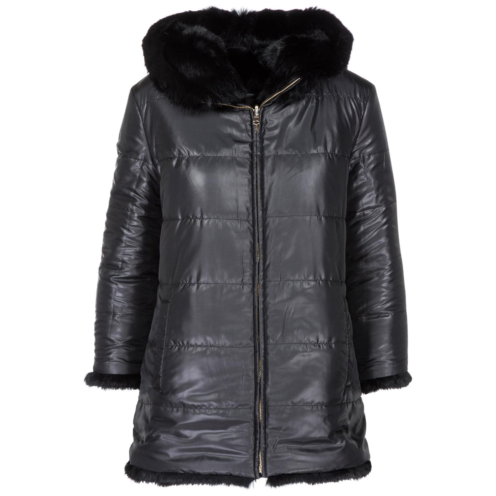 Abrigo de piel fur mujer