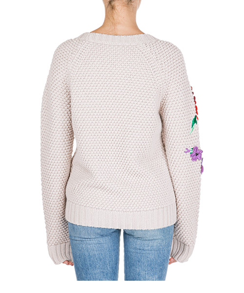 Damen pullover pulli rundhalsausschnitt secondary image