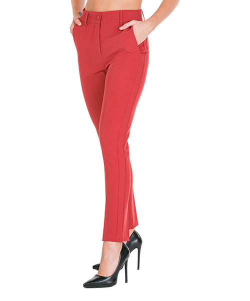 Trousers Blumarine 4374 02448 rosso