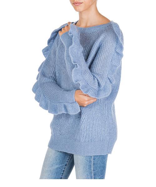 Suéter Blumarine 8019 00116 azzurro
