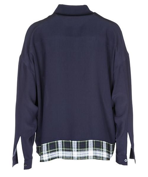 Damen langarmhemd lange Ärmel hemd blausa secondary image