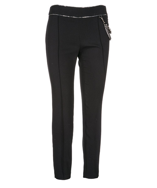 Trousers Boutique Moschino A031158240555 nero