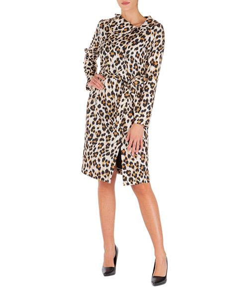 Vestito al ginocchio Boutique Moschino a040758521009 marrone