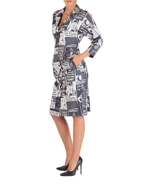 Vestito al ginocchio Boutique Moschino a044758511003 nero