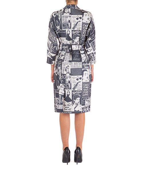Vestito abito donna al ginocchio manica lunga secondary image