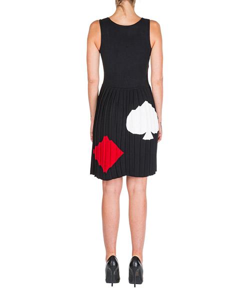 Vestito abito donna al ginocchio senza maniche secondary image