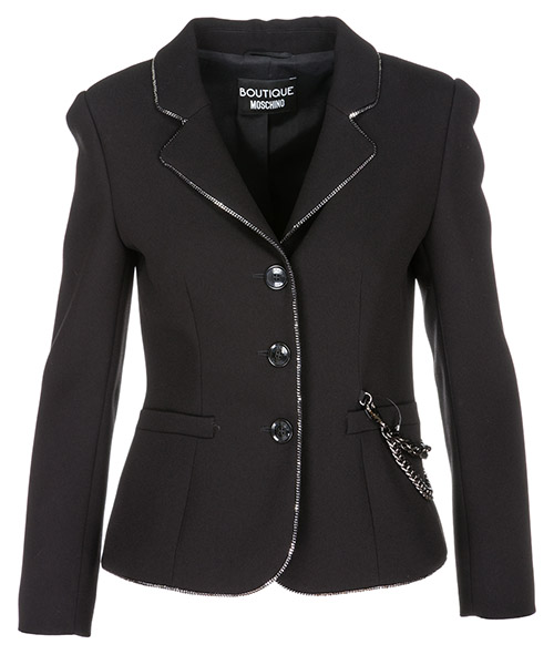 Blazer Boutique Moschino a050358240555 nero
