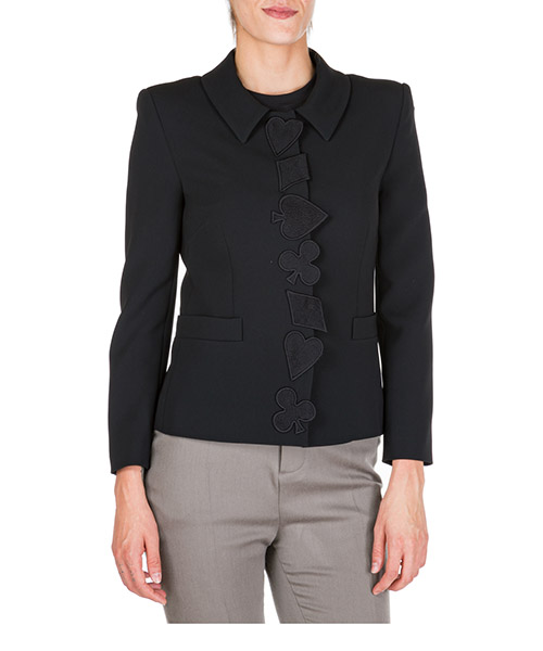 Blazer Boutique Moschino A050461240555 nero