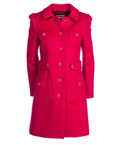 Coat Boutique Moschino A06046115213 fucsia