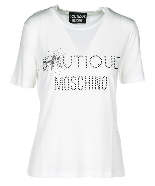 T-shirt Boutique Moschino A120661402002 white