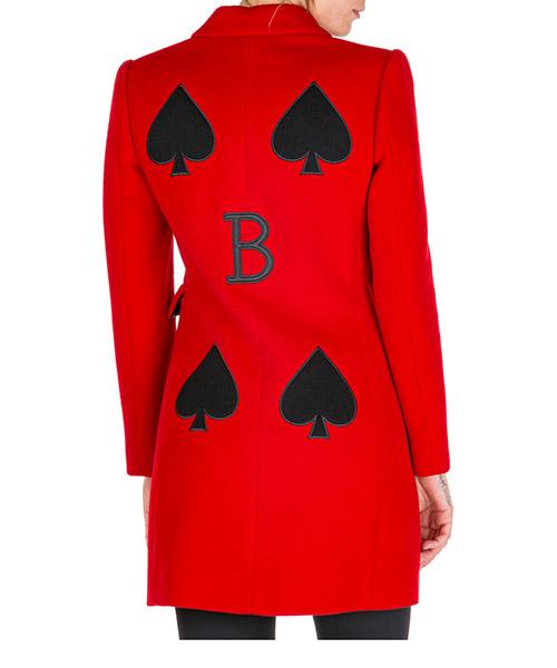 Cappotto Boutique Moschino j060961151115 rosso