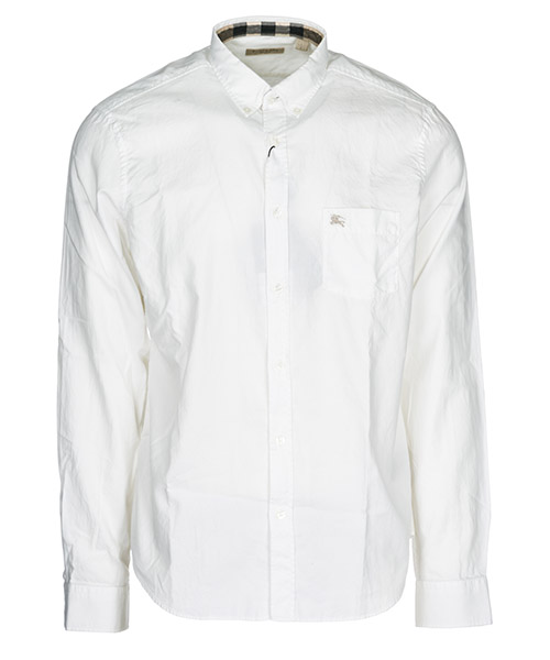 Camicia Burberry Fred 37897251 white