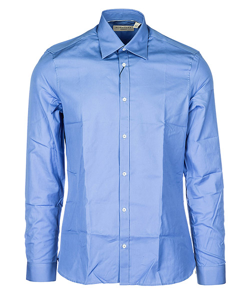 Camicia Burberry 38413941 mid blue