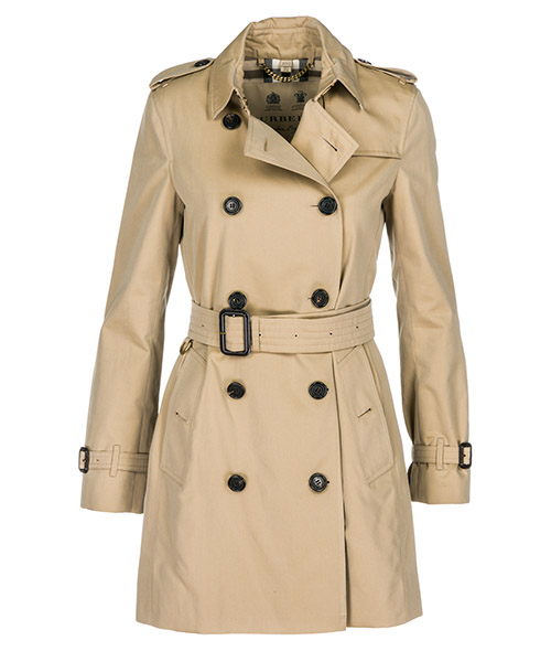 Overcoat Burberry Kensington  39004611 honey