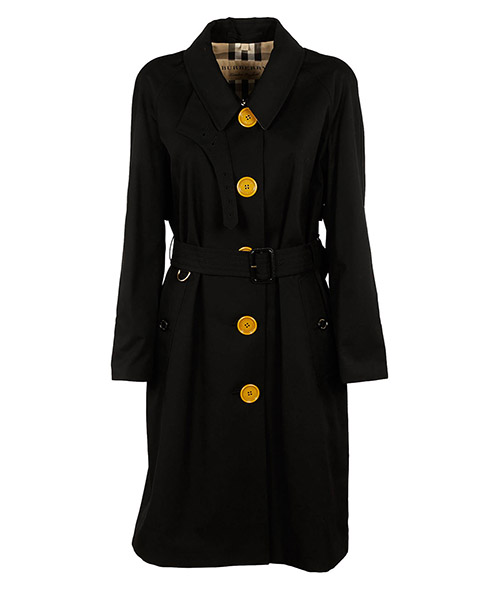 Overcoat Burberry 40556961 nero
