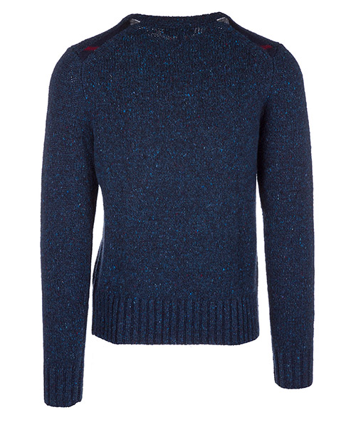 Men's crew neck neckline jumper sweater pullover rossan secondary image
