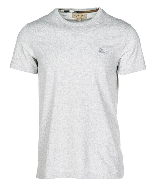 T-shirt Burberry Joeforth 40618201 pale grey melange