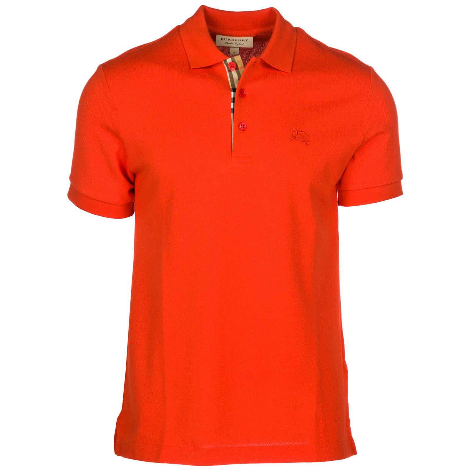 73bfd11b4441 Polo t-shirt Burberry Hartford 80009141 bright red