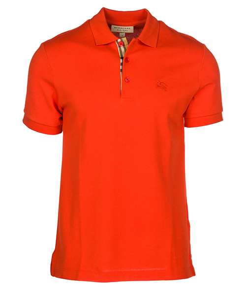 Polo t-shirt Burberry Hartford 80009141 bright red