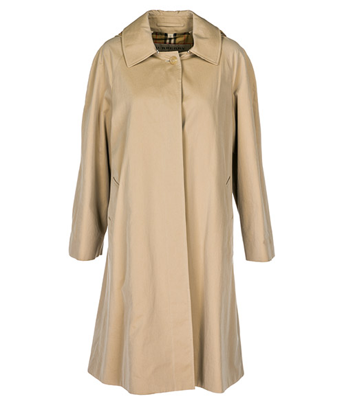 Overcoat Burberry 80012081 honey