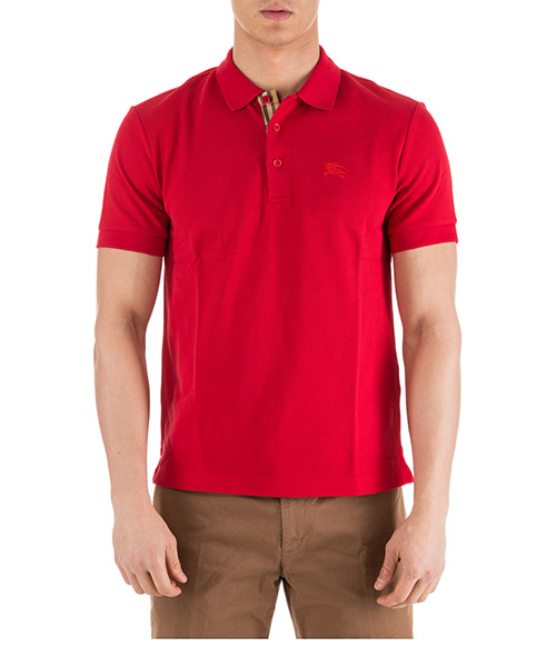 Polo shirts Burberry Hartford 80031221 rosso