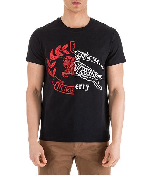 T-shirt Burberry 80040811 nero