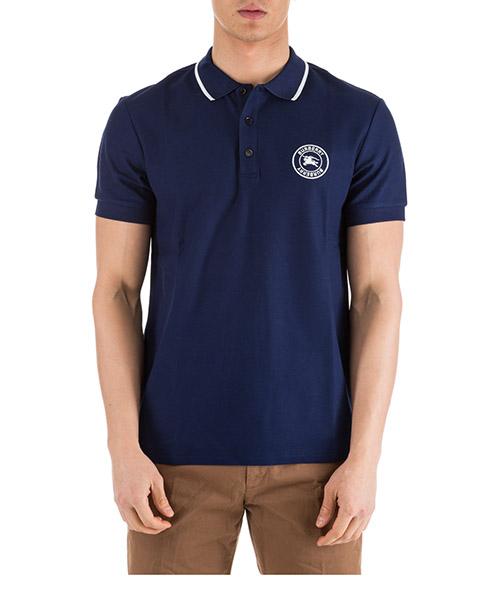 Polo t-shirt Burberry Moreton 80059371 blu
