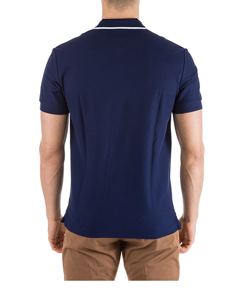 T-shirt manches courtes col polo homme secondary image