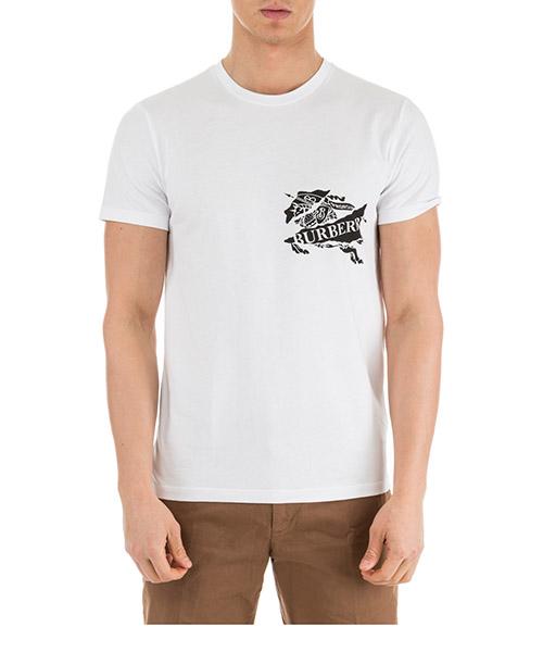 T-shirt Burberry 80070141 bianco