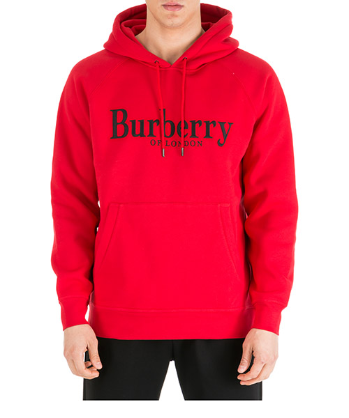 Hoodie Burberry Clarke 8007833 1002 bright red