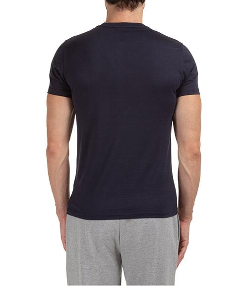 Men's short sleeve t-shirt v neck neckline secondary image