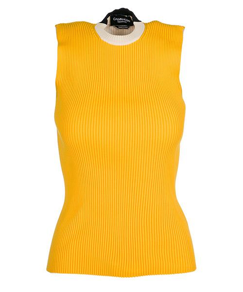 Canottiera Calvin Klein 82WKTC54 light tangerine / ecru