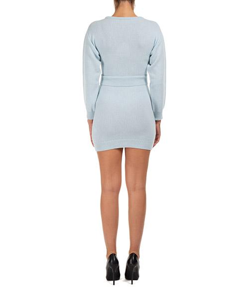 Damen kleid knielänge lange Ärmel  flirting secondary image
