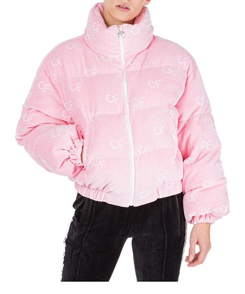Down jacket Chiara Ferragni cfd011 rosa