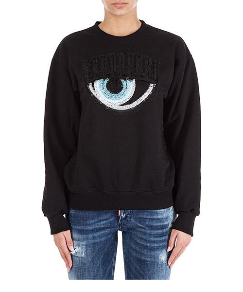 Sweatshirt Chiara Ferragni Logomania CFF057NERO nero