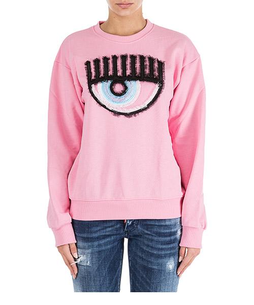 Sweatshirt Chiara Ferragni Logomania CFF057ROSA rosa